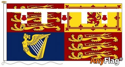 -ROYAL STANDARD OF PRINCE HENRY OF WALES ANYFLAG RANGE - VARIOUS SIZES
